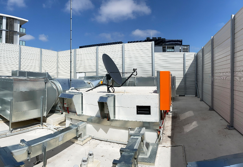 Commercial Rooftop Sound Enclosures | ModularWalls