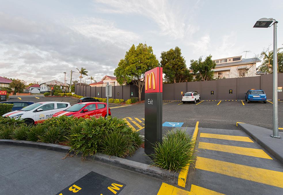 Commercial McDonalds Walls | ModularWalls