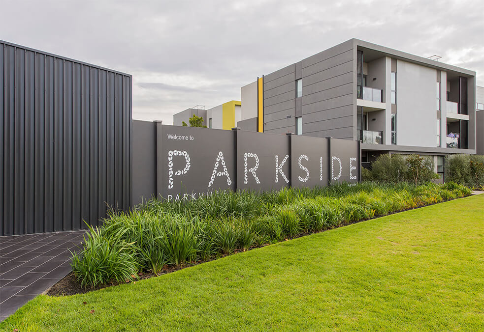 BarrierWall for Parkside Apartments, VIC