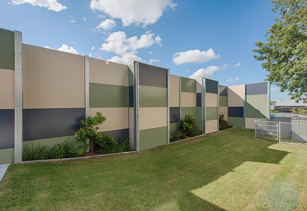 GuardianWall for New Farm State School, QLD