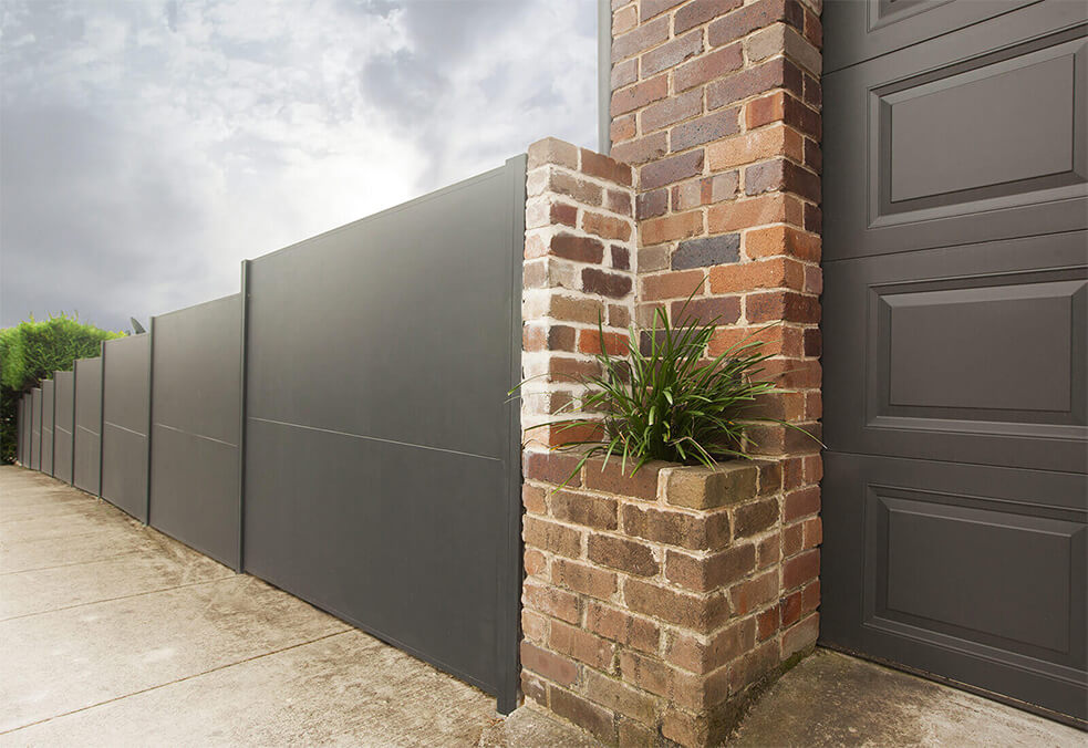 Premium fencing boundary wall