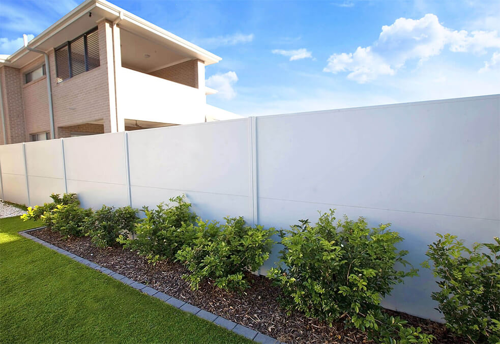 Premium fencing backyard boundary