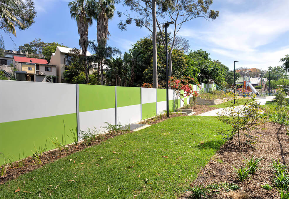 SlimWall for Annandale Community Park, NSW