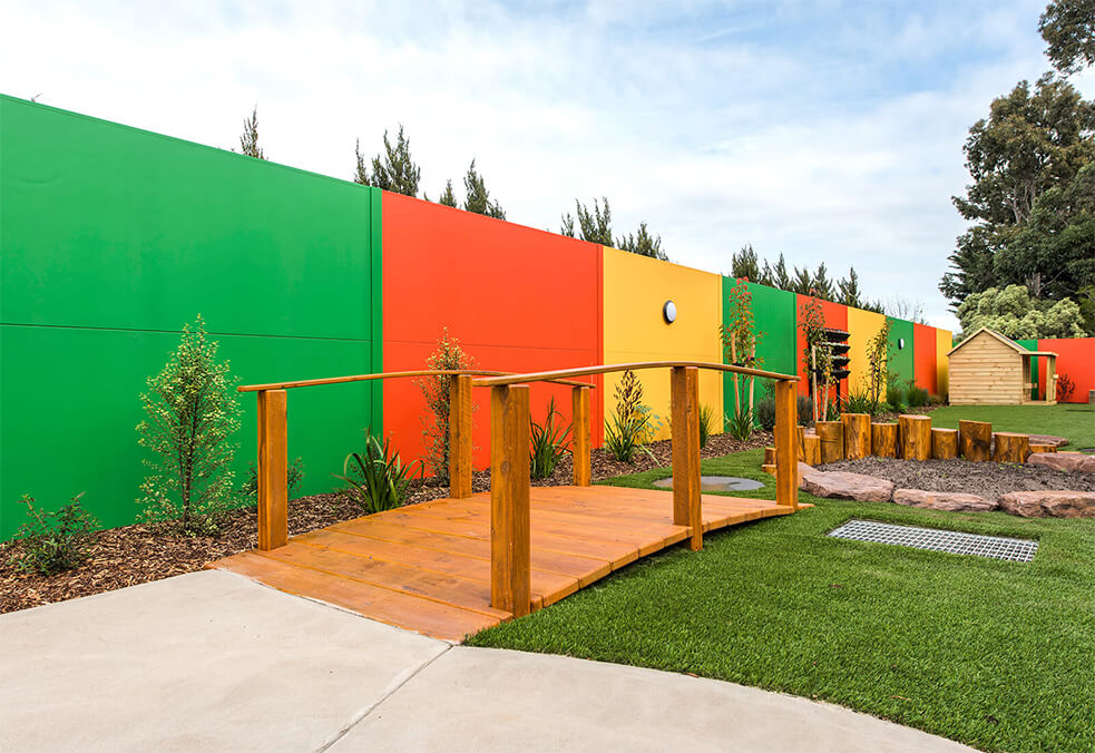 SlimWall for Hoppers Crossing Child Care, VIC