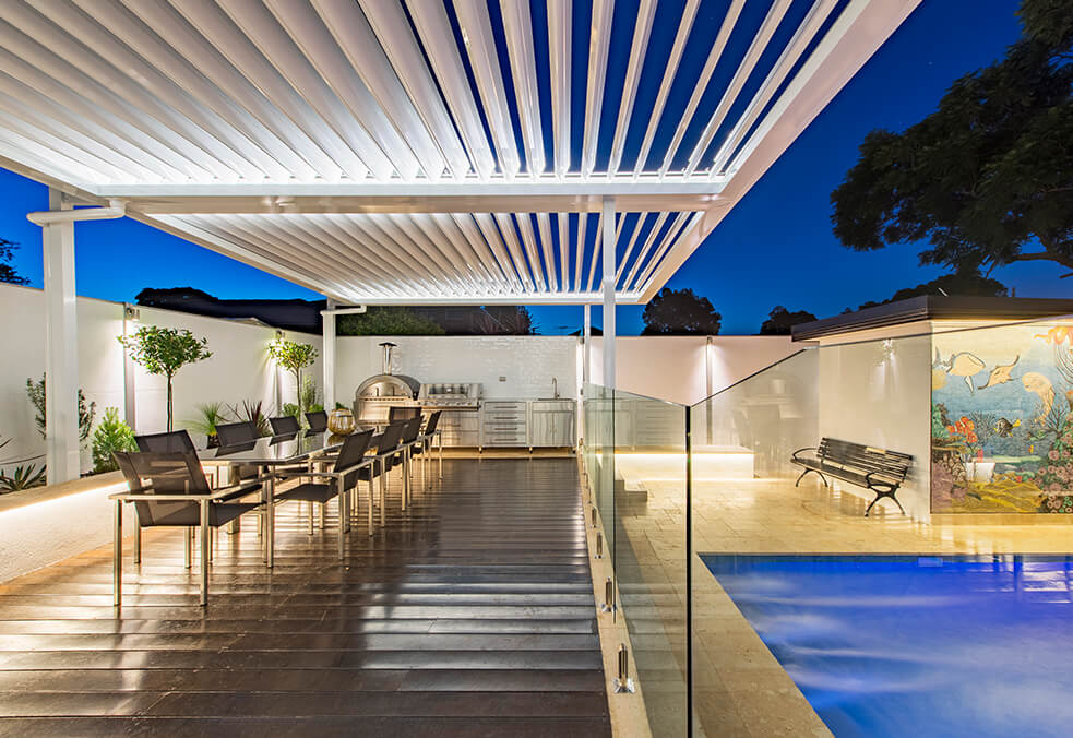 Residential Pool Boundary Walls | ModularWalls