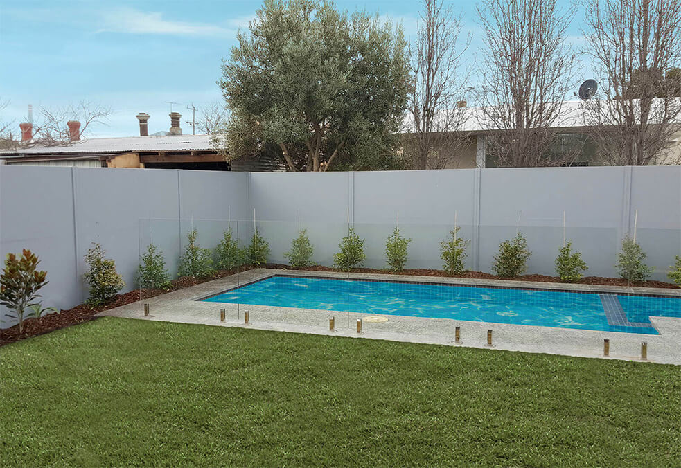Premium fencing offering privacy and pool safety