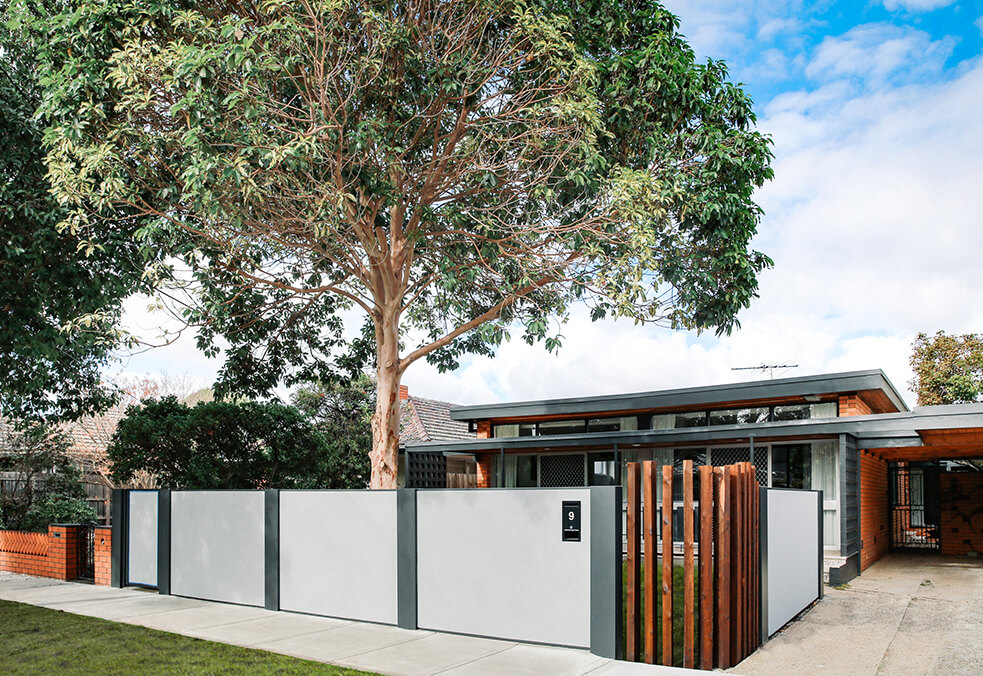 Residential Front Feature Walls | ModularWalls