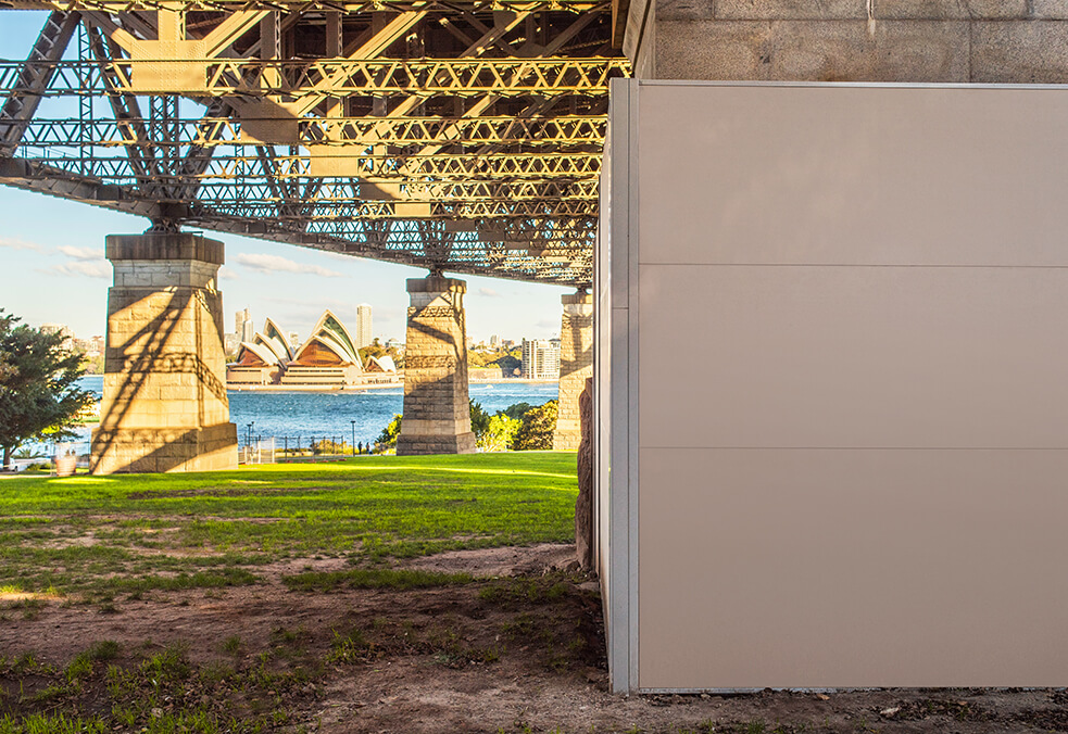Commercial Sound Enclosures Harbour Bridge | ModularWalls