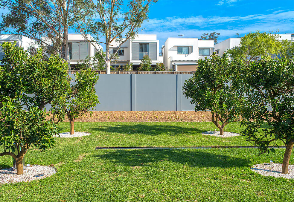 VogueWall for Kellyville development, NSW