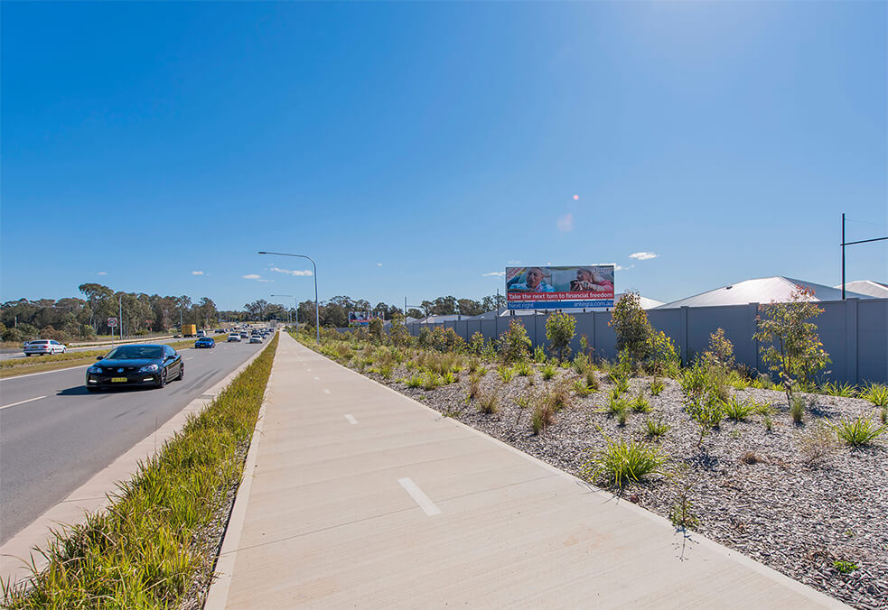VogueWall for Yarraman Developments, Leppington, NSW